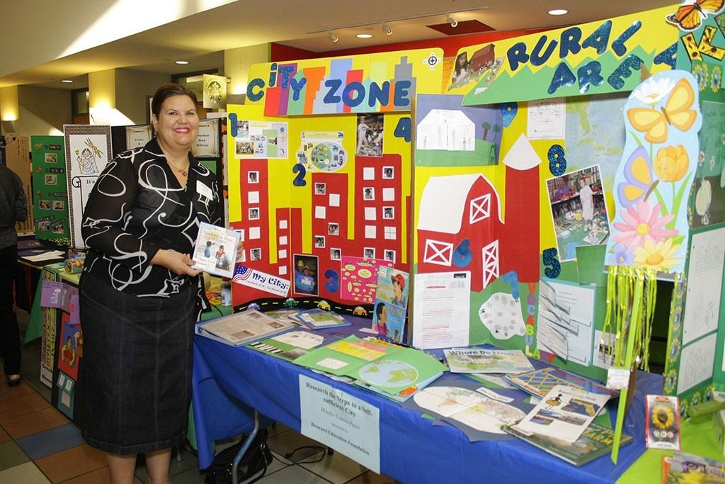 Mildays Cepero-Perez, a teacher at Griffin Elementary School