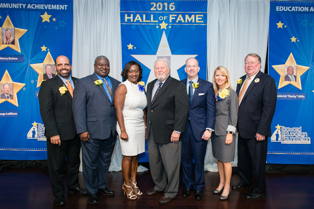 2016 Broward Education Foundation Hall of Fame Award Inductees
