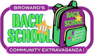 Browards Back to School Community Extravaganza logo