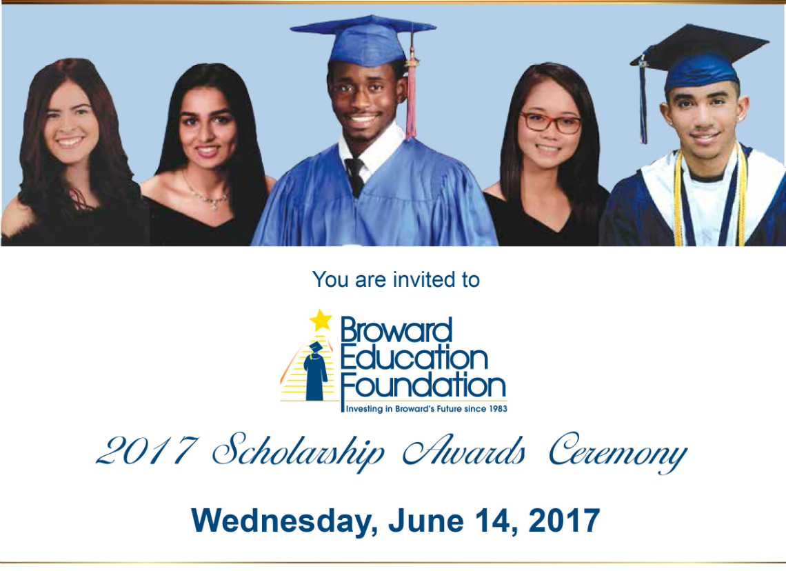 2017 Scholarship Awards Ceremony