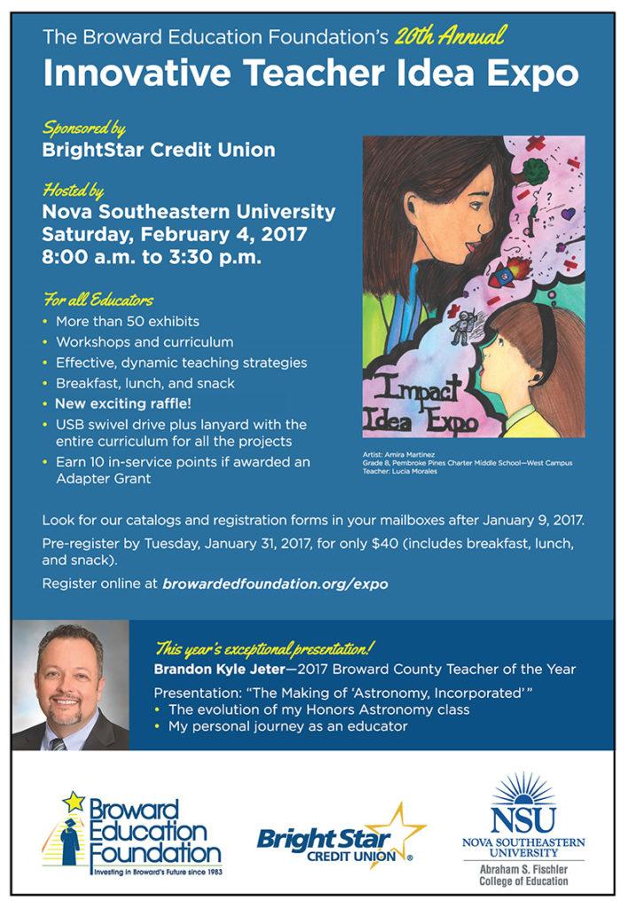 20th Annual Broward Education Foundation Teacher Expo