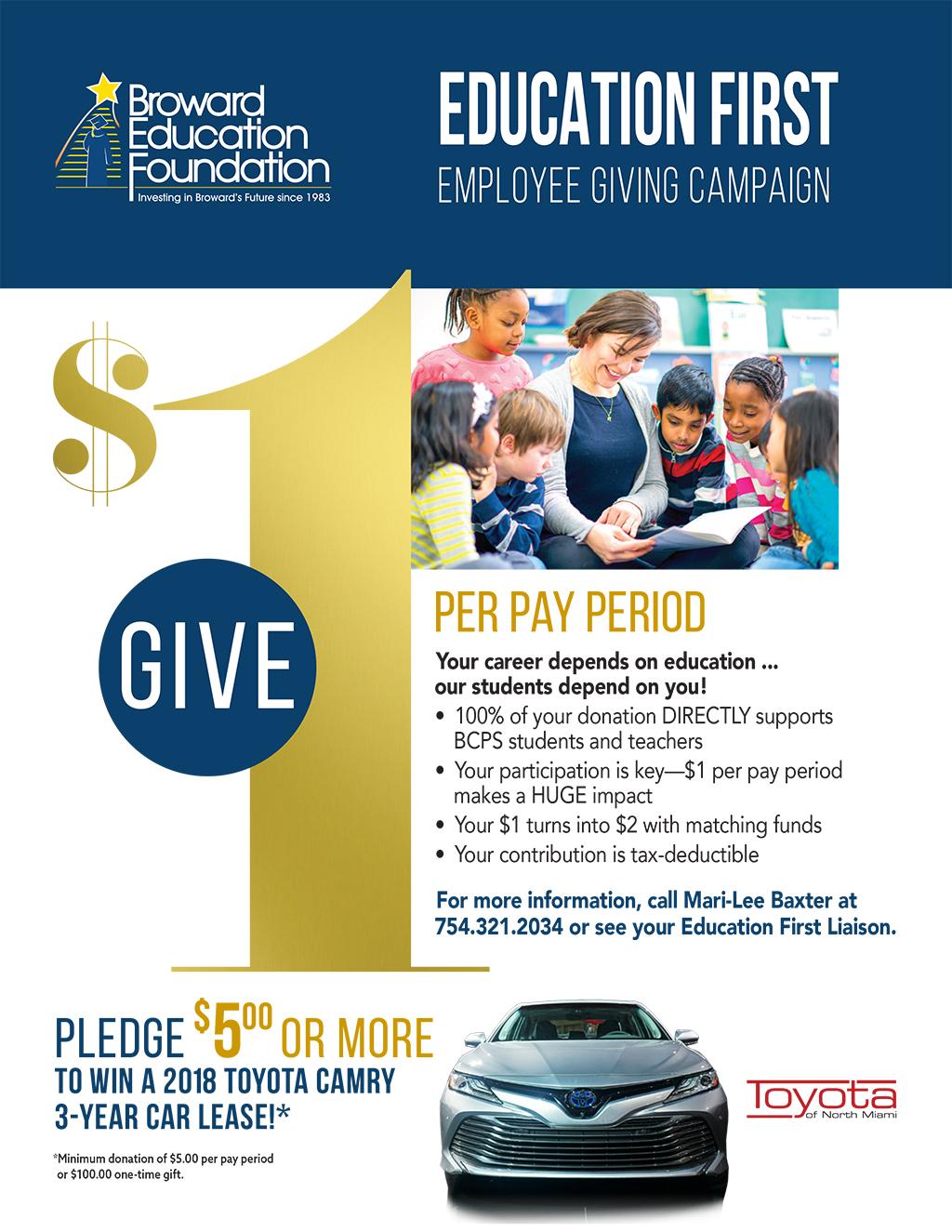 2017 Donate to Win